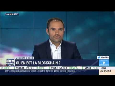 Claire Balva (CEO Blockchain Partner) sur BFM Business le 23/05