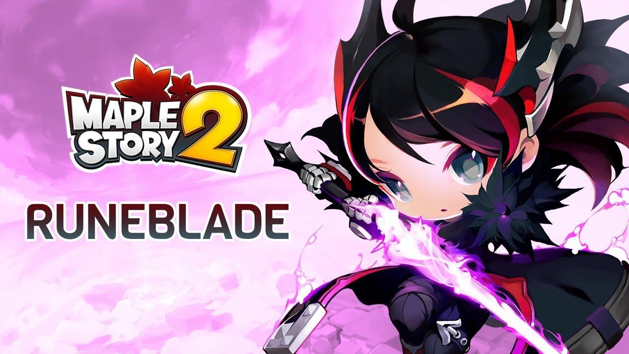 Runeblade Build Guide Maplestory 2 MS2 | GamerDiscovery