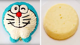 🍰CAKE!How to Make a Doraemon Cakeドラえもん 小茄子製作哆啦A夢造型蛋糕