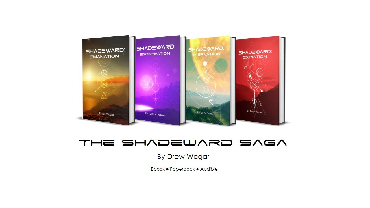 The completed Shadeward Saga by Drew Wagar (A spoiler free overview) -  YouTube