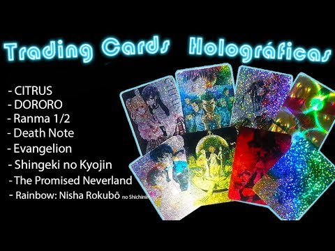 🌸👉🏻 COMO HACER TRADING CARD HOLOGRAFICAS ANIME DIY FÁCIL 🌸 from YouTube · Duration:  12 minutes 42 seconds