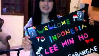 Welcome To INDONESIA Lee Min Ho.