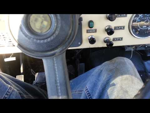 How to adjust clutch fork 83 Jeep CJ7 Part 2 - EASY