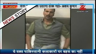 Bollywood Actor Akshay Kumar's answers to political parties doubting surgical strike