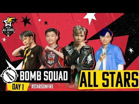 🔴 [VN] Free Fire All-Stars: Asia | Việt Nam đối đầu Indo ở Chung kết | Chế độ đặt bom [Ngày 1]