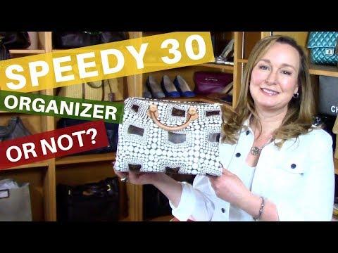 Louis Vuitton SPEEDY 30 What Fits | WIMB