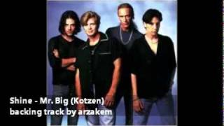 (backing track) Shine - Mr. Big /R.Kotzen