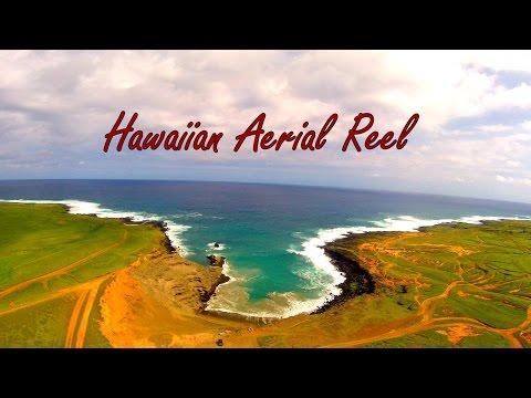 Hawaiian Aerial Reel - Big Island, Kauai and Oahu