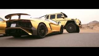 Золотая коллекция машин шейха car gold collection Dubai