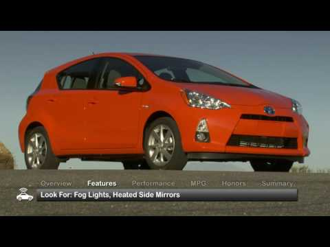 2012 Toyota Prius C Used Car Report
