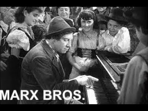 Music+Cinema: A Night at the Opera/Marx Brothers- Chico piano- Une Nuit à l'opéra