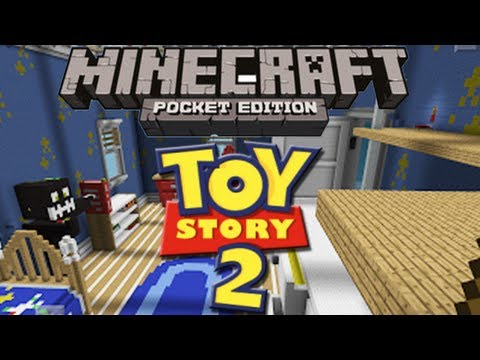 Minecraft Pe | Toy Story 2 Review de Mapa en Español Videos De Viajes