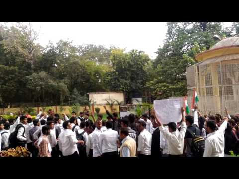 Allahabad university's law faculty campaign against anti national forces part 2