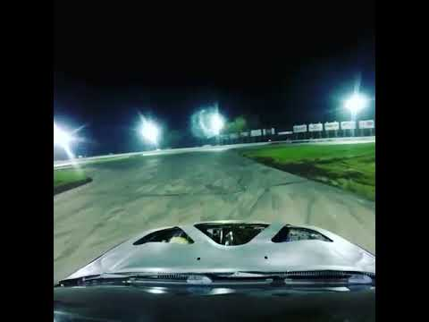 RWD B5 A4 Lake county speedway Smash o lantern