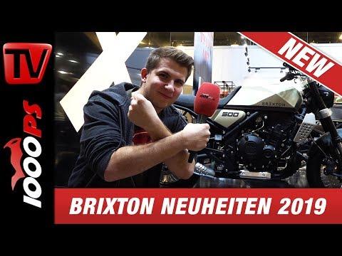 Brixton Neuheiten 2019 - Saxby 250, Glanville 250 und BX 500 Concept