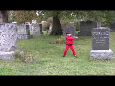 mini Michael Jackson Thriller kid - 7 year old