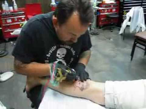 Miami ink tattoo shop aka love hate south beach youtube for Tattoo shops in miami beach