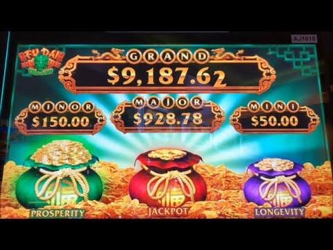 ★NEW GAME Nice Profit★FU DAI LIAN LIAN DRAGON Slot (Aristocrat)  $225.00 Free Play Live $4.40 Bet☆彡栗