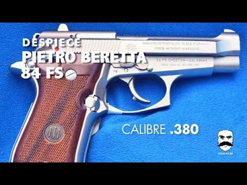 Despiece básico PIETRO BERETTA 84FS Cheetah