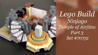 Let's Build - LEGO Ninjago Temple Of Airjitzu Set #70751 - Part 3
