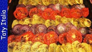 Овощной гарнир. Vegetable side dish. Итальянская кухня.