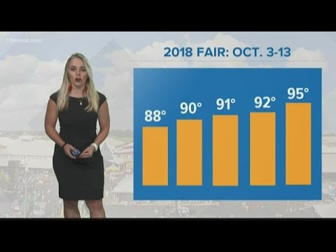 How Do This Year's Fair Temperatures Compare To Previous Years?