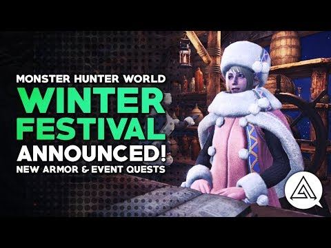 Monster Hunter World | Winter Star Festival Announced! New Armor, Event Quests & More!