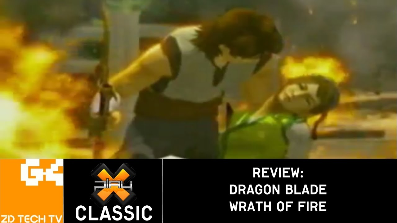 x-play classic - dragon blade: wrath of fire review - youtube