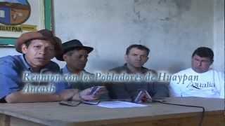 AEQUALIA DE FRANCIA EN APOYO A HUAYPAN, AMASHCA Y MITA  ANCASH