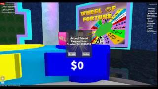 Roblox: Roue de la Fortune w/ Kingrobloxdude902 Partie 1
