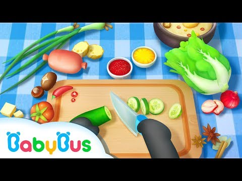 Little Panda Restaurant | Game Preview | Educational Games for kids | BabyBus