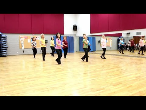 Why Can't I Say Goodbye - Line Dance (Dance & Teach in English & 中文)