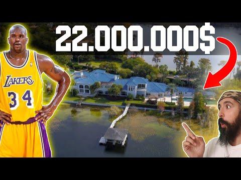 🏠 Entro en LA CASA de SHAQUILLE O'NEAL | NBA House Tour