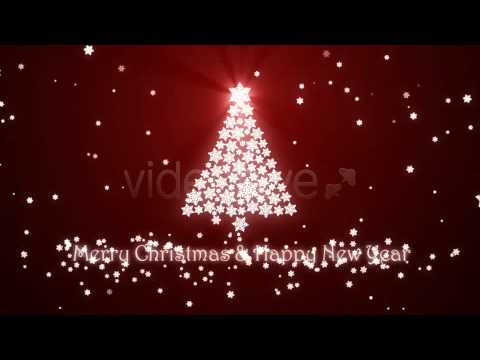CHRISTMAS TREE ANIMATION - AFTER EFFECTS TEMPLATE - YouTube