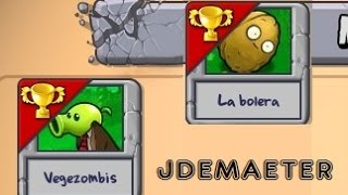Juguemos Plants VS Zombies - Minijuegos - Vegezombies y La bolera