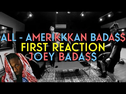 JOEY BADA$$ - ALL AMERIKKKAN BADA$$ FIRST REACTION/REVIEW (JUNGLE BEATS @ ABBEY ROAD STUDIOS)