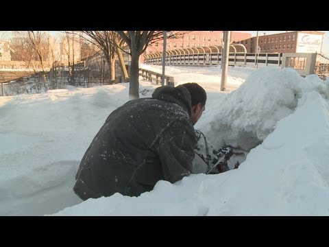 Digging out New Haven