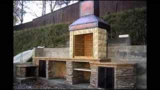 видео как сделать печь барбекю на даче
