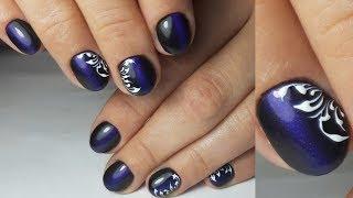 Дизайн ногтей Маникюр от и до Кошачий глаз Вензеля Ремонт ногтя полигелем Акригелем