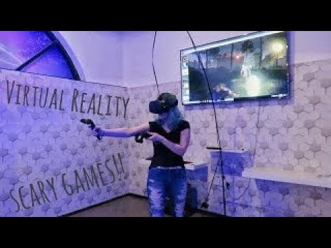 GOT EATEN BY ZOMBIES!! VR experience in Dubai