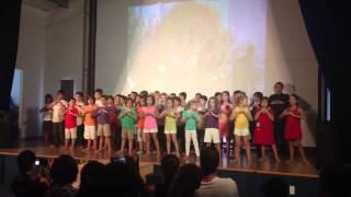 Spectacle Antonia - Enfants de toutes lé couleurs