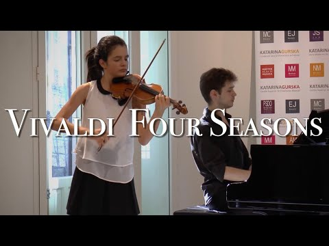 The Four Seasons - VIVALDI (Violín & Piano), by Patricia (14 )