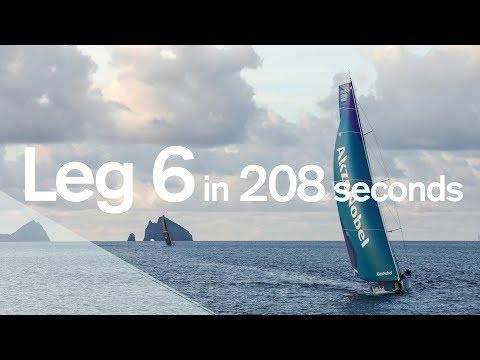 Leg 6 in 208 seconds | Volvo Ocean Race