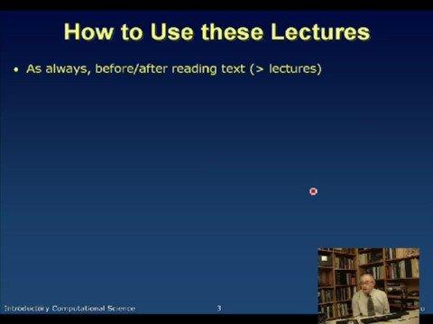 Computational Physics Science, Lecture 1, Landau