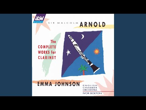 Arnold: Fantasy for B flat clarinet, Op.87 (1966)