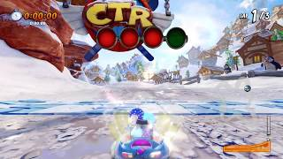 CTR Nitro Fueled: Blizzard Bluff Oxide Time Trial