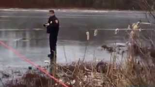 Hanover firefighters rescue man from ice
