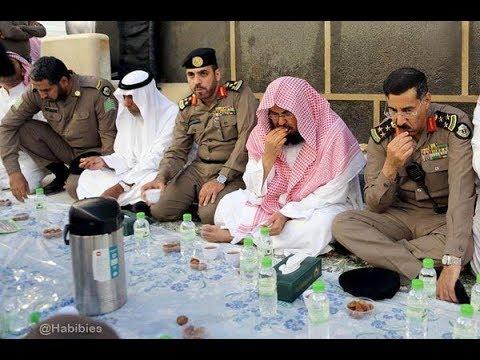 #Iftar from Makkah & Medinah 1st Day Ramadan18
