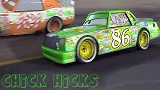 CHICK HICKS (PISTON CUP RACE CARS + CHICK HICKS DINOCO DISNEY CARS 2)