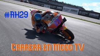 Carrerón de #AH29 en Misano en Modo TV (MotoGP 19: El VideoJuego)